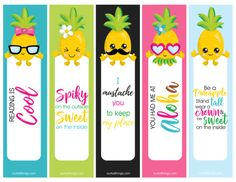 This time we will share with you several best cute bookmarks for kids that are printable for free. Classroom Decor Themes, New Classroom, Classroom Design, Classroom Displays, Cute Bookmarks, Free Printables, Pineapple, Tropical, Activities