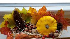 Podzimní tvoření - podzimní dekorace podzimní aranžování - tvoření s dětmi Wreaths, Fall, Decor, Autumn, Decoration, Door Wreaths, Fall Season, Deco Mesh Wreaths, Decorating