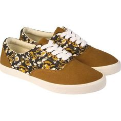 Bucketfeet Virtue Brown and Black Mens Lace Up Sneakers ...