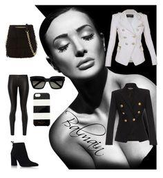 Designer Clothes, Shoes & Bags for Women Stuart Weitzman, Balmain, The Row, Yves Saint Laurent, Burberry, Kate Spade, Shoe Bag, My Style, Polyvore
