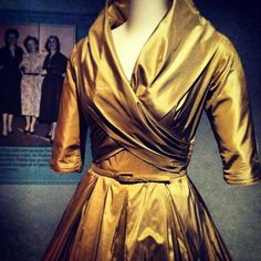 Dressed by the Best: Fashion, Glamour & Gwen Gillam. At Queensland museum until 24 February.