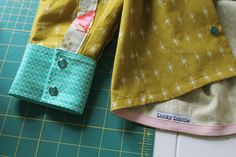 how to sew a shirt hem with bias tape