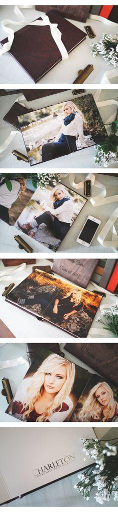 Charleton Churchill Photography did a stunning job with their recent senior album! <3