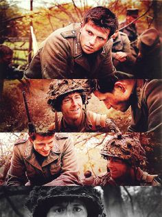 Hey, Malarkey, stop fraternizing with the enemy! Band Of Brothers Quotes, Brothers Movie, Brother Quotes, Series Movies, Tv Series, Hero Tv Show, Company Of Heroes, Really Good Movies, We Happy Few