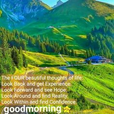 Looking Forward, Looking Back, Good Morning, Confidence, Rainbow, Thoughts, Life, Outdoor, Beautiful