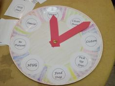 We held a Kindness Festival on Saturday, Feb. 8 to kick off Random Acts of Kindness Week.  Miss Marcia hosted our kids' craft table where children made Kindness Clocks