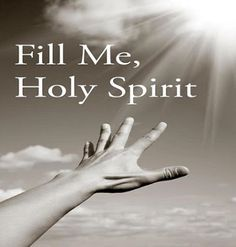 Fill us holy spirit 🌠 🌠 🌠 yeshua jesus, lord and savior, holly spirit, f Faith Quotes, Bible Quotes, Bible Verses, Saint Esprit, Believe, A Course In Miracles, Spiritus, Jesus Is Lord, Faith In God