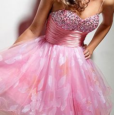 Pink prom!