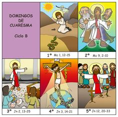 DOMINGOS DE CUARESMA – CICLO B.