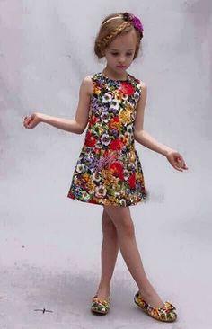b455cde5bcf5 Summer 3D Butterflies Peachy Kids Dress