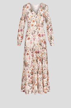 Maxi haljina open shoulder Dresses With Sleeves, Shoulder, Long Sleeve, Fashion, Pattern, Curve Dresses, Moda, Full Sleeves, La Mode