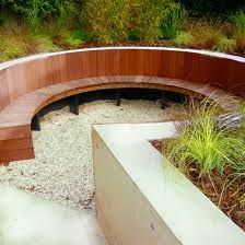 sunken seating garden - Google Search
