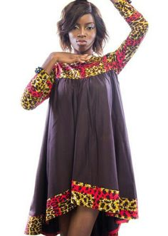 Here are some ankara gowns that will make you look awesome in every occasion. These ankara gowns are fascinating and will make you appear beautiful. Latest African Fashion Dresses, African Inspired Fashion, African Dresses For Women, African Print Dresses, African Print Fashion, Africa Fashion, African Attire, African Wear, African Women