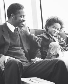 Will Smith and Jaden Smith Pursuit Of Happiness Movie, The Pursuit Of Happyness, Happiness Quotes, Will Smith, Jaden Smith, Great Films, Good Movies, American Dad, Movie Quotes