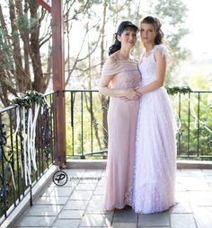 mother and daughter wearing denise eleftheriou creations Bridesmaid Dresses, Wedding Dresses, Daughter, Formal Dresses, How To Wear, Fashion, Bridesmade Dresses, Bride Dresses, Dresses For Formal