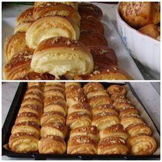kenyerek és péksütik : Sajtkrémes háromszögek