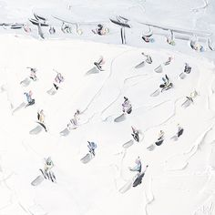 Sally West, Beach Art, East Coast, Skiing, Paintings, Mood, Abstract, Winter, Amazing