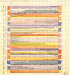 Gunta Stölzl -Design for a wall hanging Bauhaus Weimar--MOMA