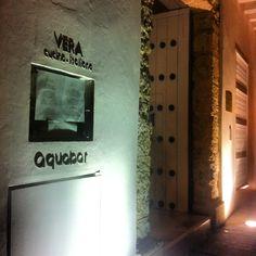 Aquabar at Vera restaurant Cartagena, Colombia