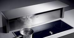 #cocinas Campana de encimera de Gaggenau