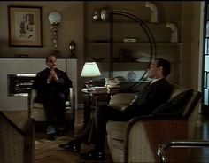 Poirot's Apartment: Living Room