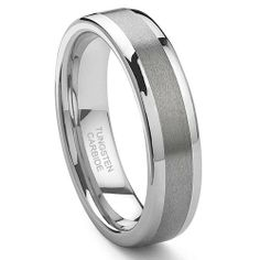 I ordered this ring for my soon to be husband as his wedding band. The sizes run big so I had to send it back twice to find the right size. TK returned the new sizes quickly which made for a smooth transaction. I am extremely happy with the quality, the look and of course the customer service. I will use TK for future purchases and suggest others use them as well.         $54.99