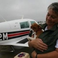 Most awesome dog rescue group--all these pilots donate their flying to transport dogs to rescues.