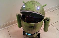 android trash can