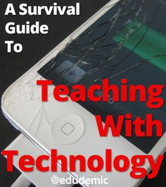 Check out ISTE Member Shelly Terrell's survival guide to teaching with technology. A must have for every educator!
