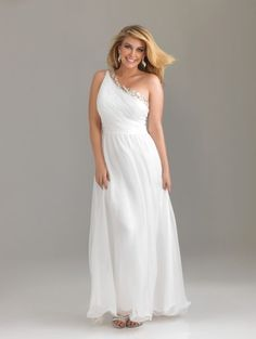 Vestidos de Fiesta 2012 para Gorditas. Coleccion Plus Sized de Night Moves by Allure.