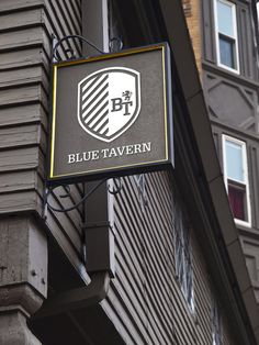 Modern take on traditional pub sign Wayfinding Signage, Signage Design, Branding Design, Menu Signage, Luxury Branding, Environmental Graphics, Environmental Design, Pub Signs, Shop Signs