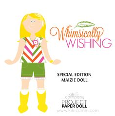 Free paper doll  and outfit for Project Paper doll  #Free