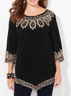 CATHERINES STATE OF MODE TUNIC - PLUS SIZE 3X #Catherines #Tunic