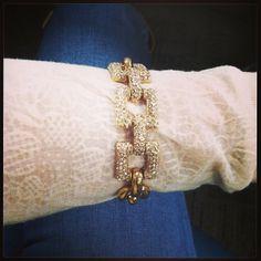 J Crew link bracelet #officestyle #jewelry