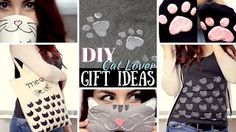 diy gift ideas for cat lovers - YouTube