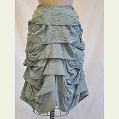 Stormy Skirt by Krista Larson. Huge random wave ...