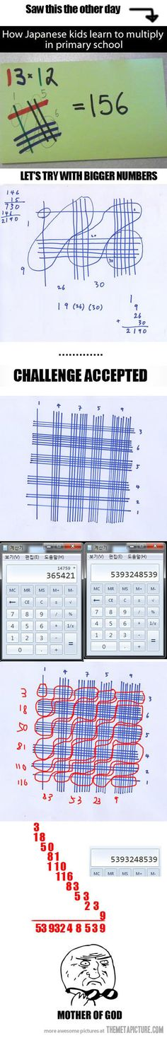 Japanese Math… wow! I may be teaching this to the boys...