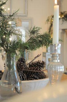 Gorgeous table decor for Christmas