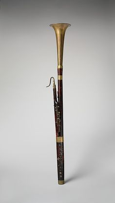 French Half-contra bassoon at the Metropolitan Museum of Art, New York Recorder Musical Instrument, Musical Instruments, Sound Of Music, Music Love, Dope Music, Basson, Early Music, All About Music, Oboe