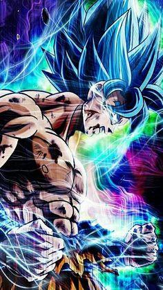 Super Saiyan Blue Goku Battle Damage Push beyond limits! Poster Marvel, Poster Superman, Dragon Ball Gt, Naruto, Super Saiyan, Son Goku, Otaku, Fan Art, Steam Profile