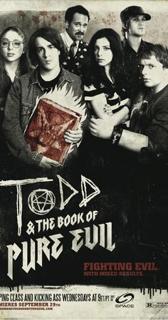 Todd and the Book of Pure Evil (TV Series 2010– )