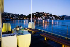 Outdoor Bar on the SF Bay overlooking Tiburon All Seasons Catering Wedding Spot, Wedding Ideas, Marin County, Hilarious, Funny, Laughter, Wedding Venues, Comedy, Cabin