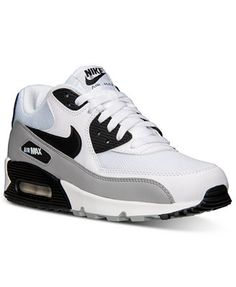 sale retailer ae5e5 a8429 Nike Men s Air Max 90 Essential Running Sneakers from Finish Line   Reviews  - Finish Line Athletic Shoes - Men - Macy s