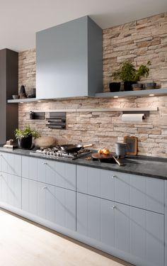Prachtige moderne keuken van Nolte.