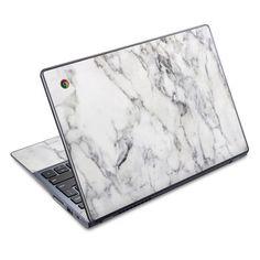 Acer Chromebook C720 Skin - White Marble