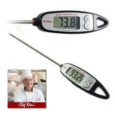 Latest Digital Meat Thermometer | Lifetime Replacement Warranty | Instant Read | Perfect for Turkey, Oven, Oil, Kitchen, Grill, BBQ, Candy or Any Cooking Needs | Rated No.1 Grill Accessories