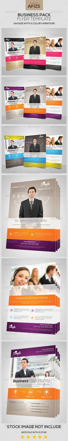 Business Flyer Pack  #GraphicRiver         FILES INFORMATION: 9 PSD File  A4 size: (8,27×11,7 inches) + bleeds  Fully Editable Photoshop Layer  All of text Editable  CMYK with 300 DPI  PRINT READY   FONT INFORMATION: Roboto: .fontsquirrel /fonts/roboto   STOCK IMAGE:  .flickr /photos/76029035@N02/6829429639/   .flickr /photos/76029035@N02/6829524451/   .flickr /photos/76029035@N02/6829537417/   CONTACT: GRAPHICRIVER: graphicriver /user/afizs/portfolio  Email: apiecears@gmail   FACEBOOK…