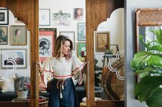 Where Vintage Reigns Supreme: The Eclectic Office of Dallas' Flea Style — Desk Envy