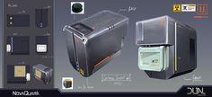 Dual universe container concept #2