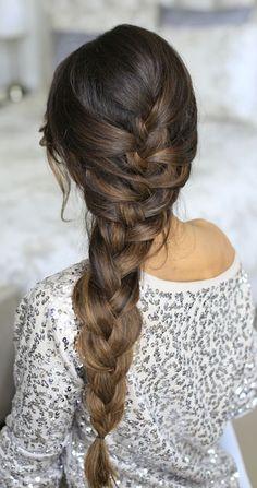 Pretty, easy braids you can wear today @luxyhair